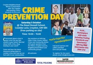 Flyer - Crime Prevention Day attachment