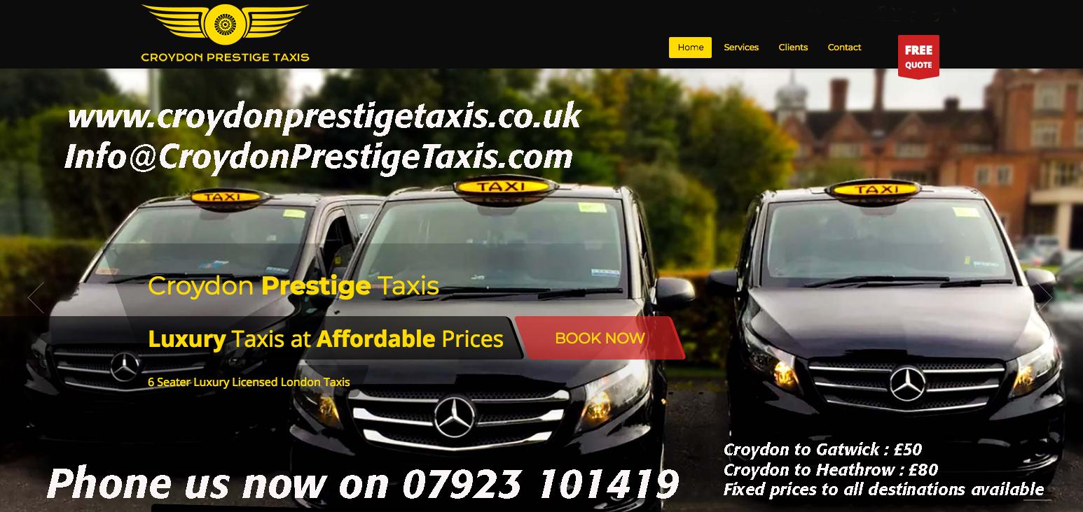 Prestige Taxis Croydon